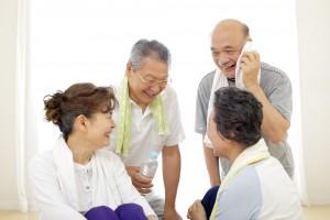 メディカルフィットネスでの高齢者のコミュニティ